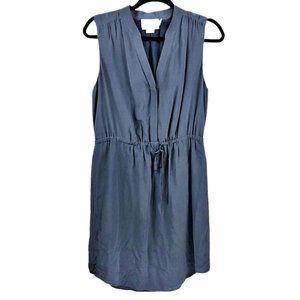Cynthia Rowley 100% Silk Mini Shirt Dress 6